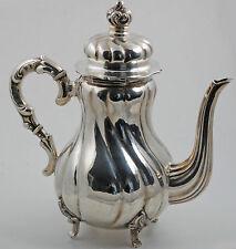 835er Silber Mokka Kanne Kaffeekanne silver coffee pot jug germany