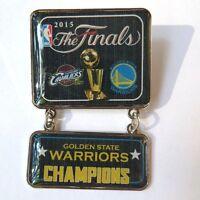2015 NBA Champs Dangler Pin - Golden State Warriors