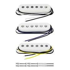 3pcs Strat Guitar Vintage Alnico 5 Single Coil Neck + Middle +Bridge Set Pickup