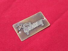 VINTAGE 1955 USA GIBSON GUITAR CASE BADGE LOGO CALI 1956 1957 1958