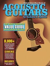 Blue Book of Acoustic Guitars 15th Edition Sheet Music Guitar Book NEW 000138729