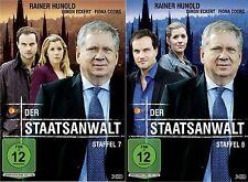 Der Staatsanwalt - 7 und 8 Staffel - Rainer Hunold - Simon Eckert - 6 DVD 2Boxen