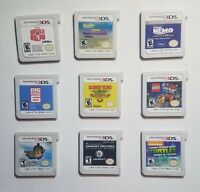 Lot Of (9) Nintendo 3DS Games Lot Cartridges Only Listed In Description