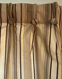 JCPenney Pinch-Pleat Back Tab Curtain Panel 50 x 84 - Lot Of 4 Panels