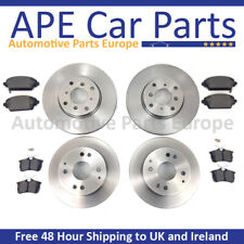 RENAULT MASTER 10- 2.3 DCi FRONT & REAR BRAKE DISCS AND PADS (FRONT WHEEL DRIVE)
