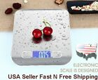 11lb/0.05 ounces 5KG/1G Stainless Slim Digital Weight Electronic Kitchen Scale