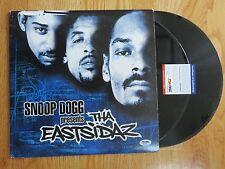 SNOOP DOGG signed Presents THA EASTSIDAZ 2000 Record / Album Set PSA / DNA