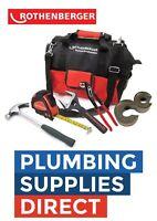 * Rothenberger - Plumbers Apprentice Tool Bag Kit Plumbing Bag With 16oz Hammer