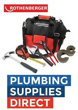 * Rothenberger - Plumbers Apprentice Tool Bag Kit Plumbing Bag With 16oz Hammer