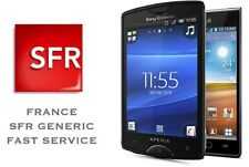 NOKIA LUMIA ALL MODELE FRANCE SFR UNLOCK CODE