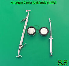 Amalgam Carrier And Amalgam Well Dental Instruments