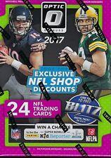 2017 Panini Donruss OPTIC Football NFL Trading Cards 24ct. Retail Blaster Box