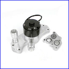 Chev LS1 40+ Gpm Slimline Electric Water Pump Polished CVR MEZIERE STYLE Holden