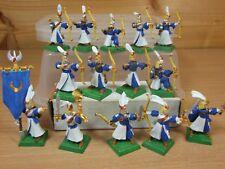 14 plastique Warhammer Hauts Elfes archers archers peint (1027)