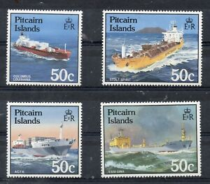 PITCAIRN ISLANDS STAMPS 1985 SHIPS SG 273/6 MINT NEVER HINGED
