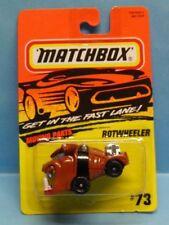 Matchbox Action System Rotwheeler #73 1995 Die Cast