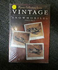CLYMER S820 VINTAGE SNOWMOBILES COLLECTION SERIES VOLUME 1