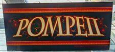 POMPEll Vintage Slot Machine Casino GLASS Topper Insert