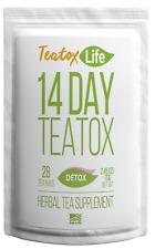 14/28 DAY SKINNY DETOX TEA AM&PM TEATOX FLAT STOMACH METABOLISM BURN FAT