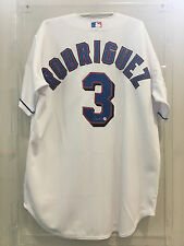 ALEX RODRIGUEZ #3 TEXAS RANGERS SIGNED JERSEY