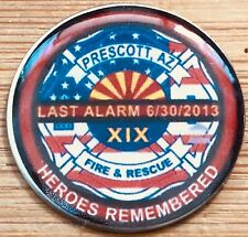 Granite Mountain Hot Shots-EOW 6/30/13 Commemorative - Round version lapel pin