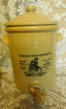 LARGE Vtg.Moira Pottery  Stoneware Crock with SPOUT~ Made In England~FREE SHIP~
