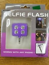 SELFIE FLASH! LED picture light, works with any phone, PURPLE (free shipping)