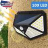 100 LED Solar PIR Motion Sensor Light Outdoor Garden Security Flood Lamp US