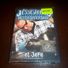 JESSE JAMES AUSTIN SPEED SHOP Custom Cars Car Mechanics Auto Customs DVD NEW