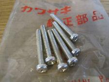 KAWASAKI NOS 4mm SCREWS KM90 G3 G4 F5 F7 F8 F9 KE175 KM100 KE125 G5  220E0430