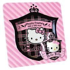NEUF HELLO KITTY ROSE CADRE PHOTO EN DAIM Coffret cadeau