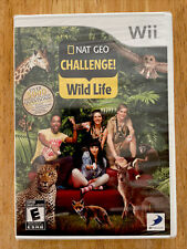 New ListingWii Nat Geo Challenge Wild Life New Sealed! (Nintendo 2010)
