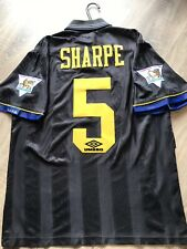MANCHESTER UNITED VINTAGE 1994/95 AWAY SHIRT ADULTS(M) 5 SHARPE