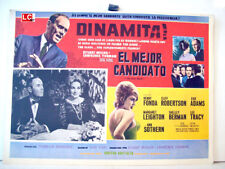 ¡ONLY AVAILABLE 24h.!/ THE BEST MAN/HENRY FONDA/1964/OPTIONAL SET/55206/1 MEXICA