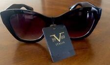 New Versace Italia 1969 Black Sunglasses