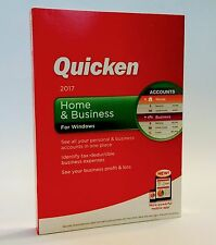 Quicken Home & Business for Windows 2017 NEW