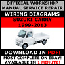 # OFFICIAL WORKSHOP Service Repair MANUAL For Suzuki Carry Every NT100 1999-2013
