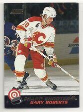 1992-93 Score - Sharp Shooters - #1 - Gary Roberts - Calgary Flames