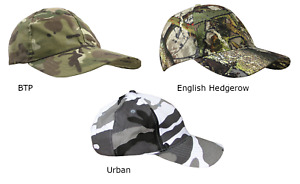 Adults Army Camouflage Baseball Cap - Various patterns