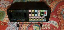 True Rms Digital Multimeter Model 467 Simpson Electric Untested Unit Powers On K