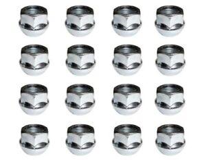 16x Wheel Nuts, Fits VW & Audi Steel Wheels 60 degree Taper, M12x1.5mm - SN41R