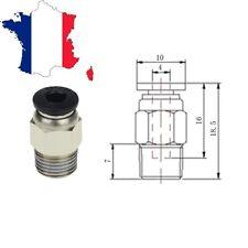 Raccord pneumatique PC4-01 pour tube PFTE filament 1,75mm - Idéal impréssion 3D