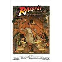 "RAIDERS OF THE LOST ARK MOVIE POSTER - INDIANA JONES - 91 x 61 cm 36"" x 24"""