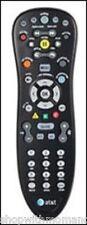 AT&T U-Verse/Uverse Set Top Box TV Television DVR Universal REMOTE CONTROL BLACK