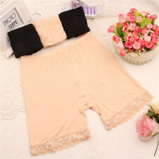 Short Sexy Safety Under Trousers Leggings 2Sizes Breathable Women Underwear Lace