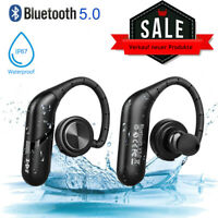 AURICOLARI CUFFIE BLUETOOTH V5.0 WIRELESS PER ANDROID IOS APPLE SAMSUNG IPHONE