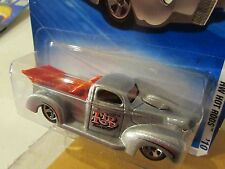 Hot Wheels '40 Ford Pickup HW Hot Rods Silver!