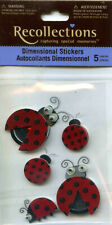 Recollections (LADYBUGS) Dimensional Scrapbooking Stickers BP-182