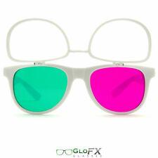 Crazy Party Rave Glasses. Great for laser shows festivals glow sticks edm edc 3d