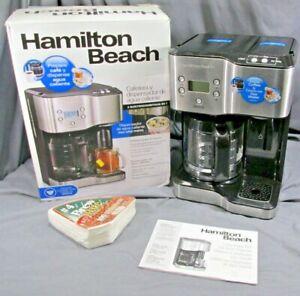 Hamilton Beach 12-Cup Programmable Coffee Maker & Hot Water Dispenser 49982